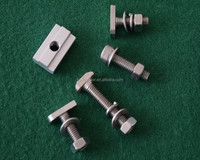 Screws and bolts M6,M8,M10 for solar bracket mounting systems