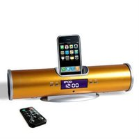 speaker dock With FM gift speaker chargeable sound bar for iphone 5