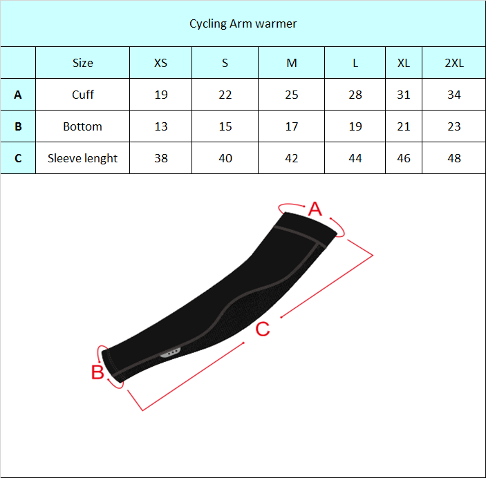 Cycling arm warmer UV protective arm sleeve cover for Pro Cycling jigging basketball