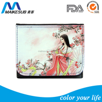 Sublimation Custom Printed lady Wallets