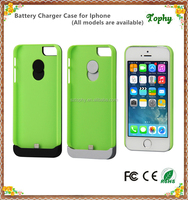 2016 Best selling Portable charger case 2200mAh extended battery case charging for iphone 5 5S 5C