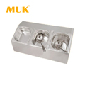 MUK hotel restaurant equipment stainless steel food container GN pan rack