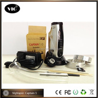 2015 new vaporizer dry herb vapor Captain 1 flash e-vapor v2 clone