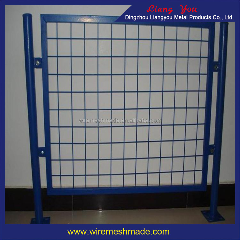 Export Best Seller Welded Mesh Panel Factory! The Blue And Yellow Color Reinforing Welded Wire Mesh Panel