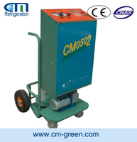 R134A/R22/R410A trollery refrigerant recovery/refill/vacuum Machine CM05 series for assemble line with high quality