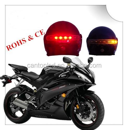 New 8 Leds Wireless Motorcycle Helmet Brake&turn Light/motorcycle String Lights - Buy Motorcycle ...