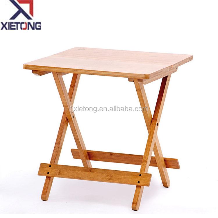 Деревянный складной стол для пикника