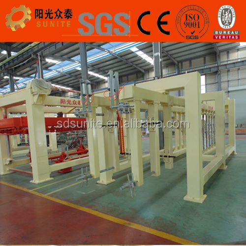 AAC brick making machine also called AAC concrete block machine enabling lower AAC concrete block price