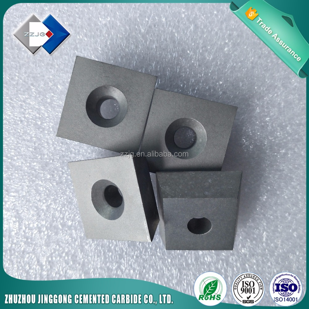<strong>Supply</strong> High QualityTungshen Carbide CNC Inserts square with hole
