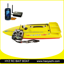potable sonar RC bait boat with fish finder