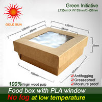 High Qulity Paper lunch/fast food box