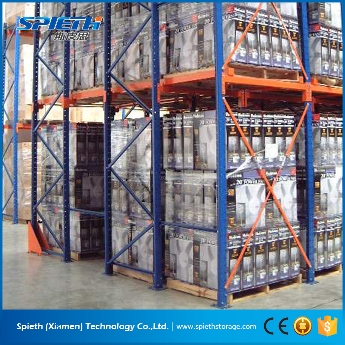 Cold Rolled Steel coils Heavy Duty colorful drive in Pallet Rack