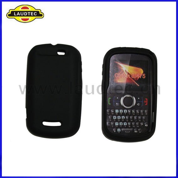 Silicone Case for Motorola Clutch i475