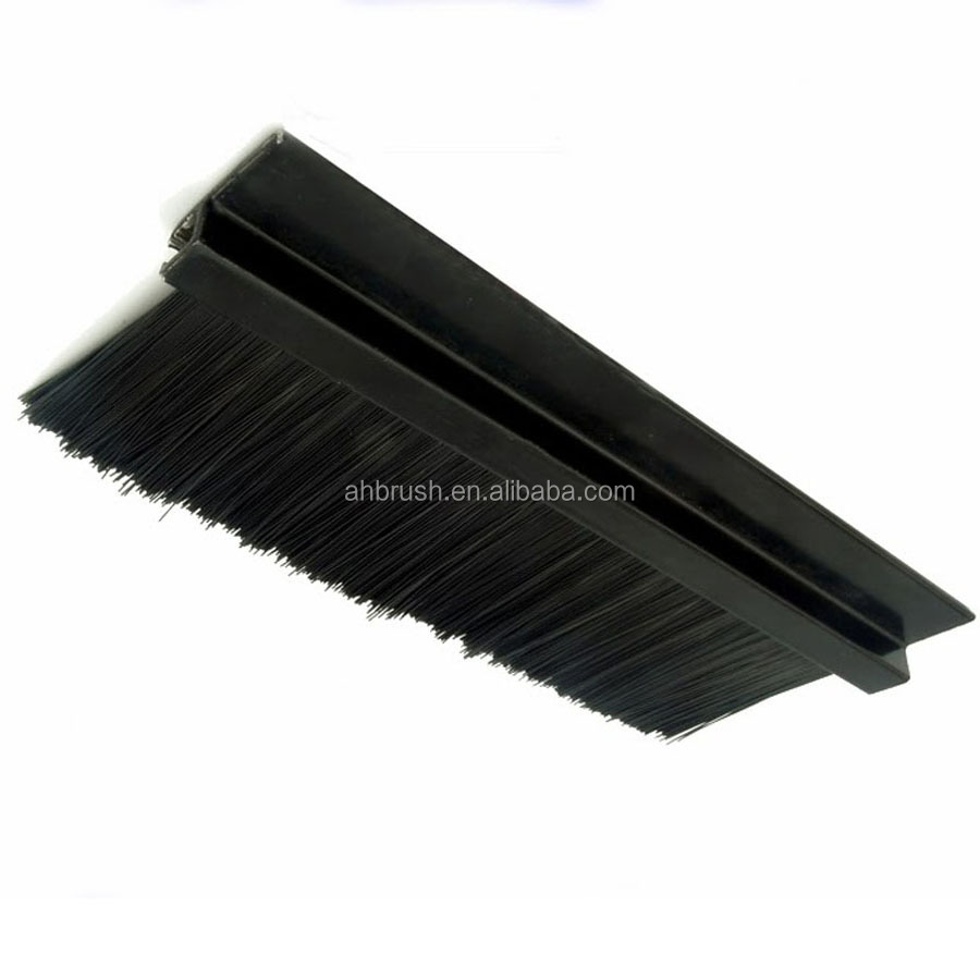 Glass Door Window Draught Excluder Brush Weather Strip Seal made in china