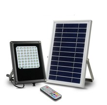 Solar Power Security Light automatic 10W Solar LED Flood Light With Remote Control