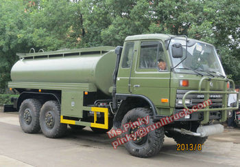 Military Fuel Truck 6x6 Dongfeng Off Road Fuel Tanker Truck EQ2102 Export to Mongolia