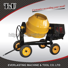 500L plastic motor cover classic type concrete mixer with CE