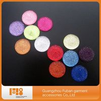 colorful resin stones for clothes decoration
