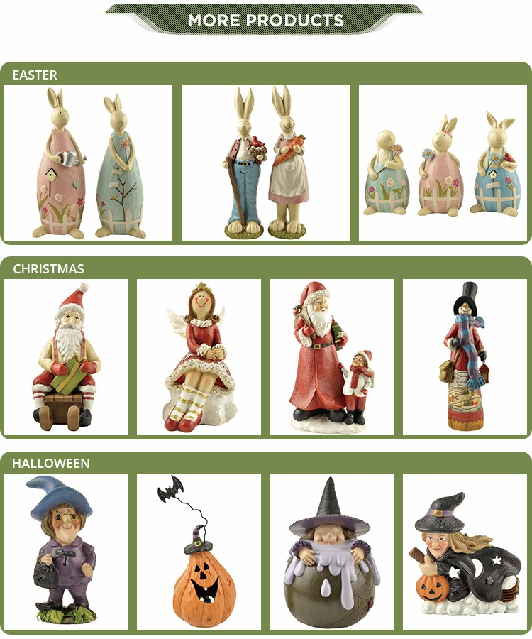 Polyresin Garden decoration gnomes figurines resin statues manufacturers