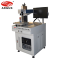 20W 30W Raycus Fiber Laser Marking Machine For Metals LED PVC Wire