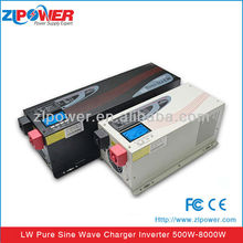 High Quality Power Inverter Pure Sine Wave Inverter with Charger 500W to 8000W