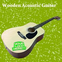 Wooden Acoustic Guitar for Promotional Events