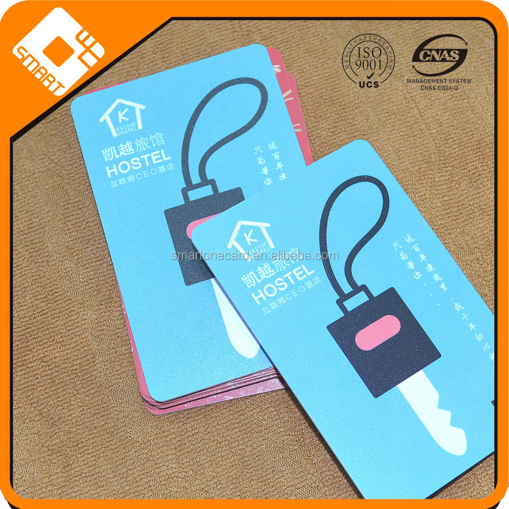 Full color printing access control card for Kaba/salto/saflok onity door lock