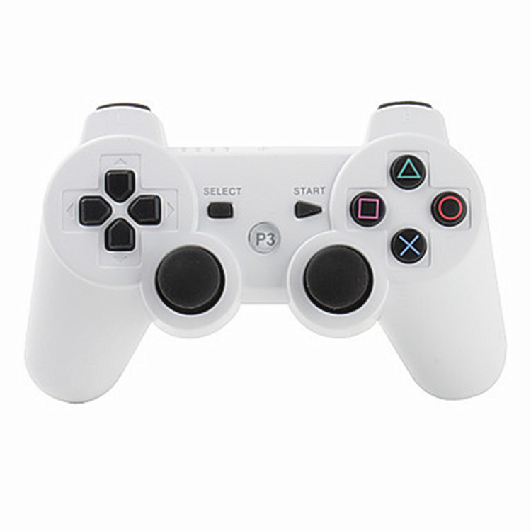 2017 Newest Wireless Bluetooth Double Vibration Game Remote Control Joystick Multi-Media Game Controller for PS3