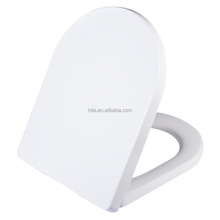 D shape 2 buttons quick release soft close slow down bathroom toilet seat