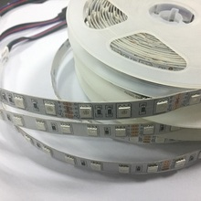 5M 300 LED 5050 SMD RGB Flexible Strip Light Car Auto LED Light Source camping strip lights