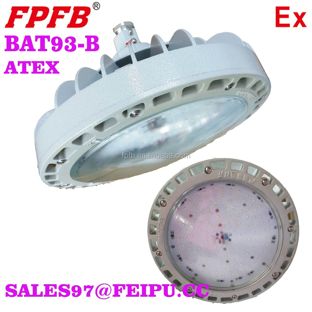 BAD93-B ATEX Certified LED explosion proof high efficient fixtures