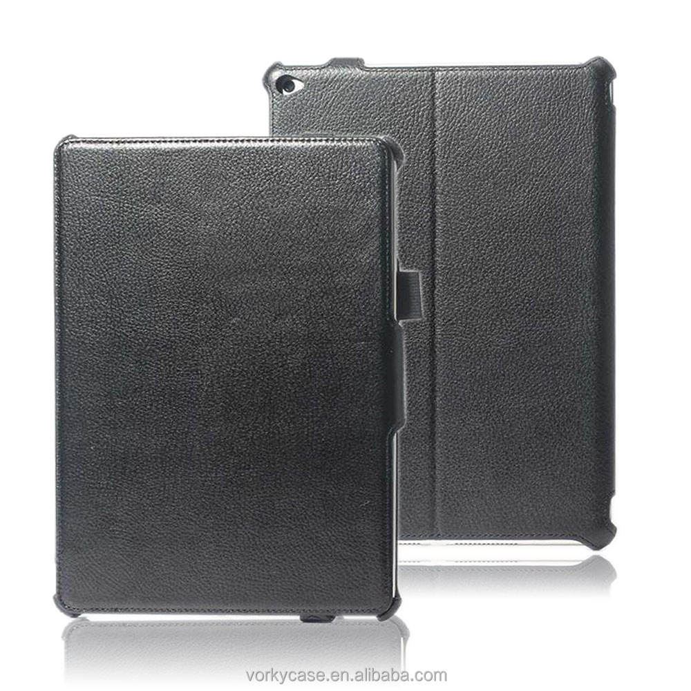 Heat transformed PU leather case for new iPad 9.7