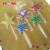 5 pcs colorful star shape birthday cake candles