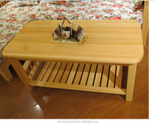 China Pine Furniture small wood teapoy