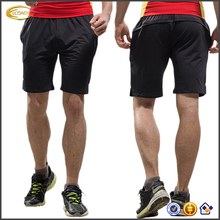 Ecoach Wholesale mens gym clothing summer casual black Breathable shorts Men Running Outdoor Fit Sport Shorts with elastic waist