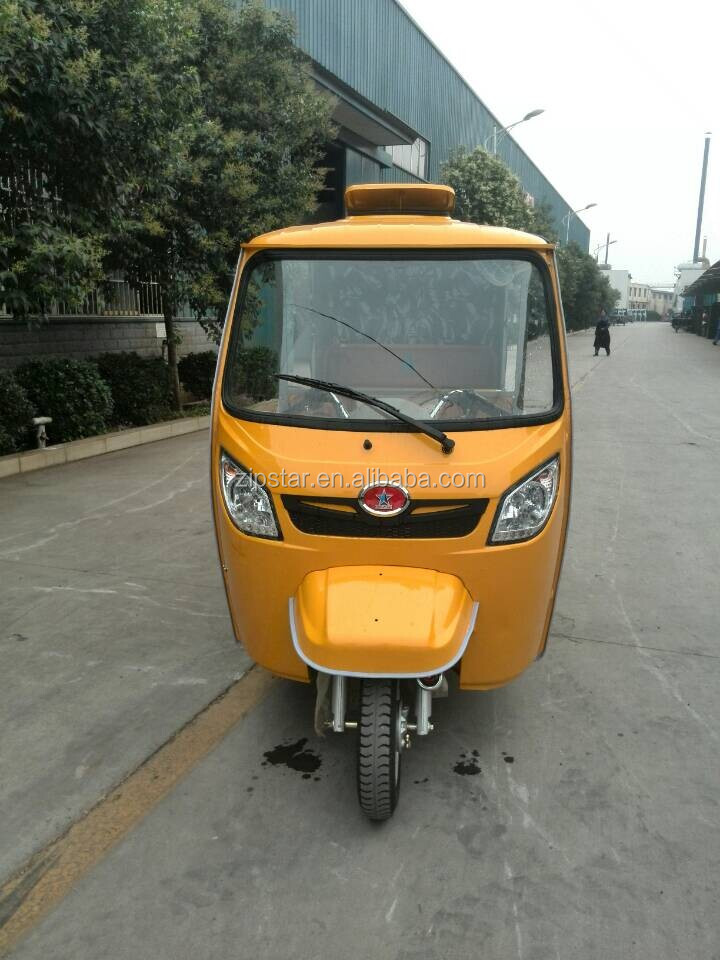 Bajaj Type Three Wheel Motorcycle Taxi