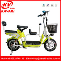 China electric tricycles baby electric bicycle for famliy bicycle model for three people with pedals