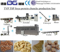 Automatic Soy fake protein meat buler extruder production line from Jinan DG company