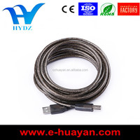 high quality USB A/M to USB B/M usb data cable for computer