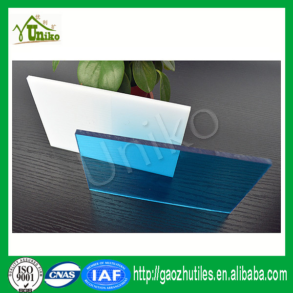lexan uv protected matte anti-drop fire proof anti-fog window glass polycarbonate sheet