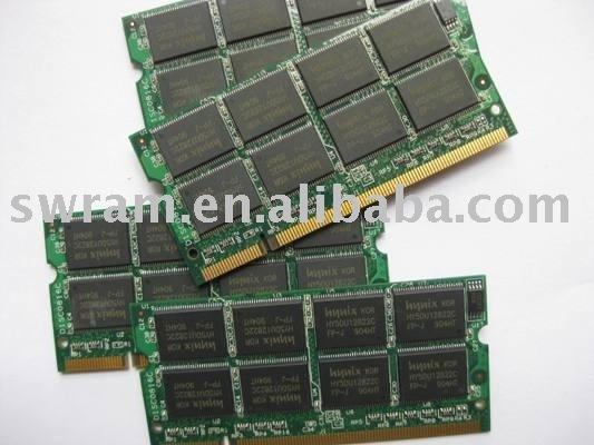 Hynix DDR 1GB 333MHZ SODIMM ram DDR laptop ram