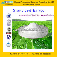 Food Grade Stevioside Sugar from GMP Factory