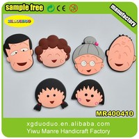 Cartoon Shaped Soft PVC Fridge Magnet, Rubber Fridge Magnet