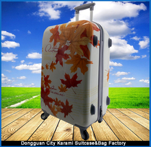 China Aluminum Trolley Travel Luggage with Removable Wheels