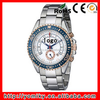 Men stainless steel mechanical top brand name watches wholesale