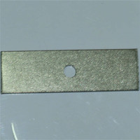 Stainless steel one hole I-stype section steel clip right angle connection