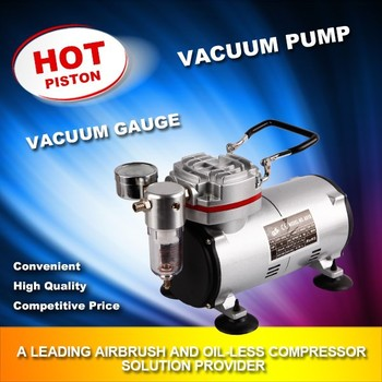 oil-free air compressor vacuum pump AS-20 wit no air pollution