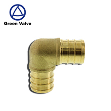 "Green Guten-Top China high quality supplier copper 1/2"" PEX ELBOW - BRASS CRIMP FITTING - LEAD FREE Pex pipe"
