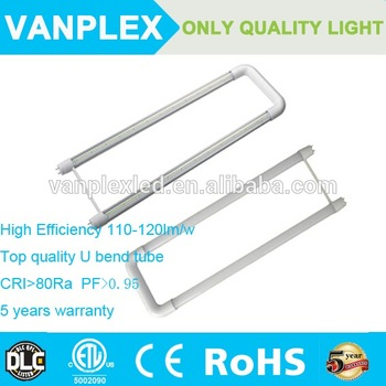 China supplier most competitive price t8 U bend shape 18w led tube light