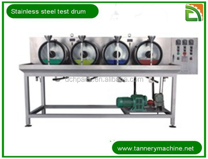 China 304 stainless steel soaking liming tanning dyeing test drum dry head skin supplier